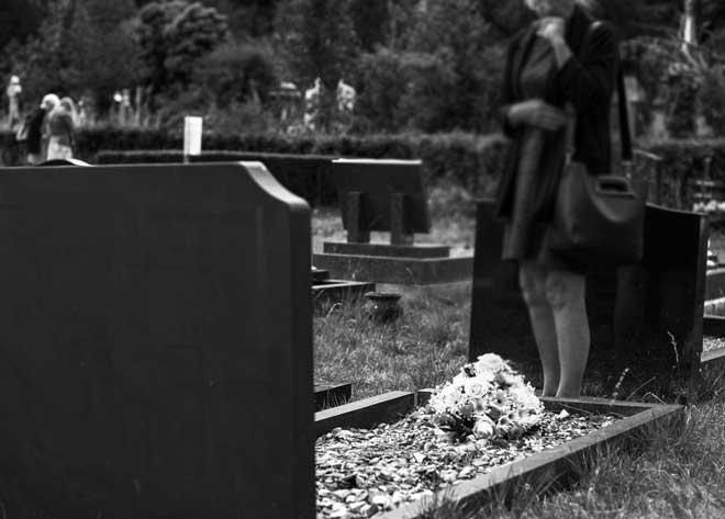 Беременность и похороны