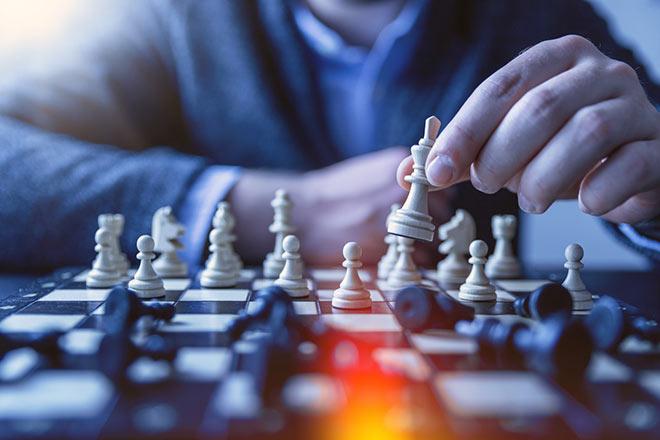 Ходьба фигур в шахматах